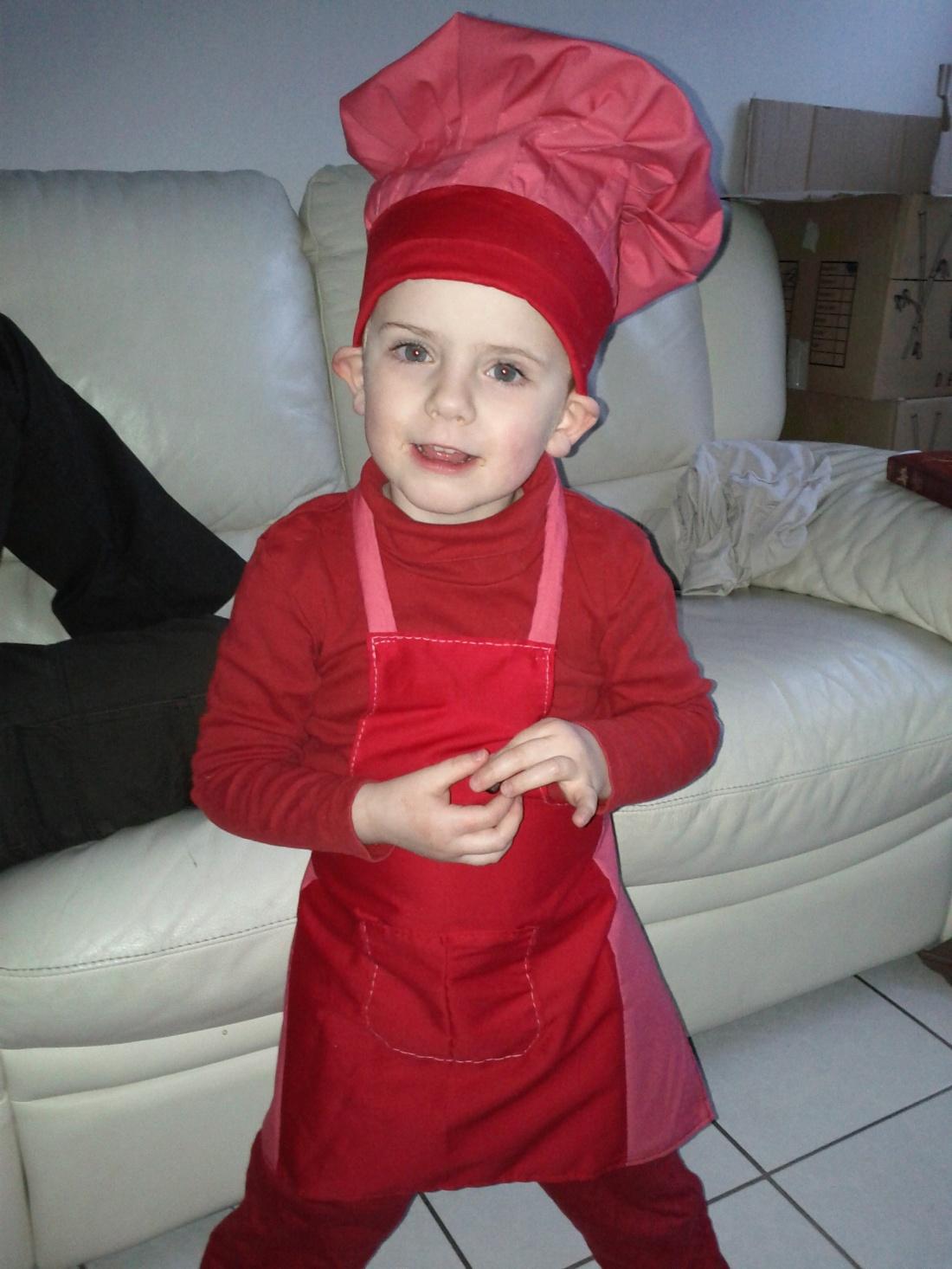 Costume Petit chef